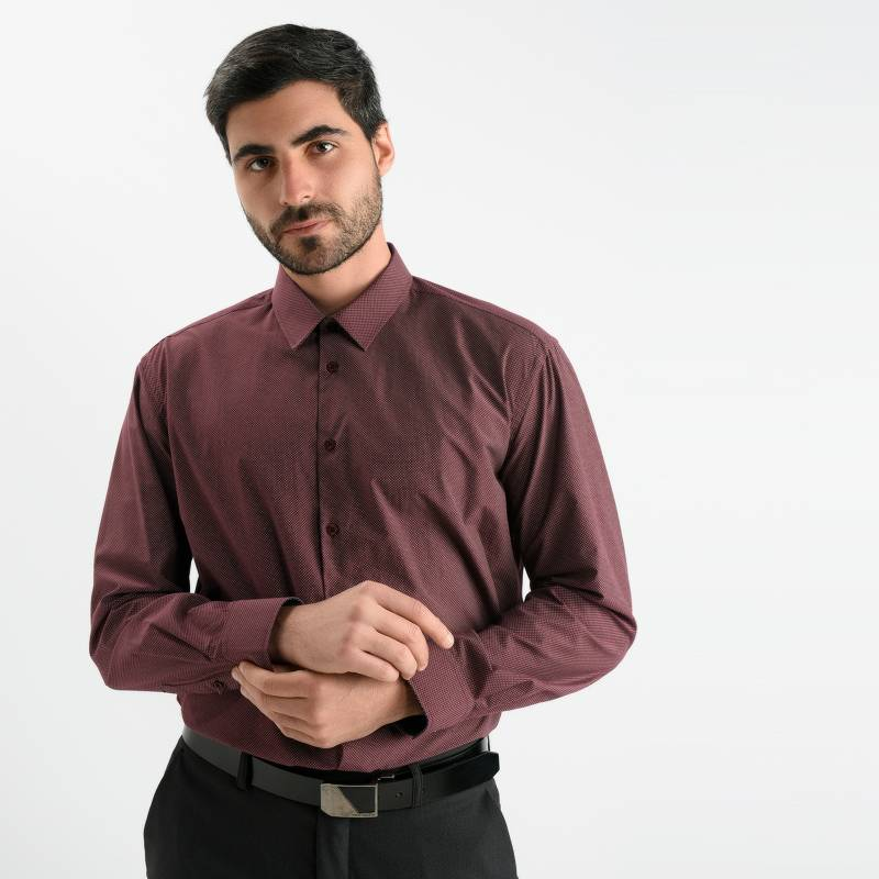 Newboat - Camisa de Vestir Regular