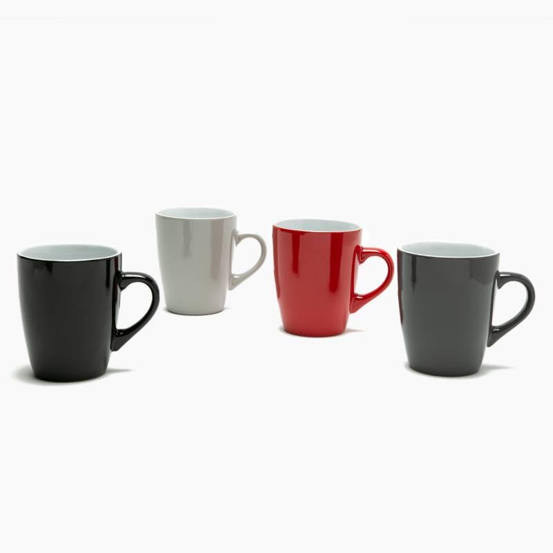 Mica - Set x4 Mugs Color Oscuro