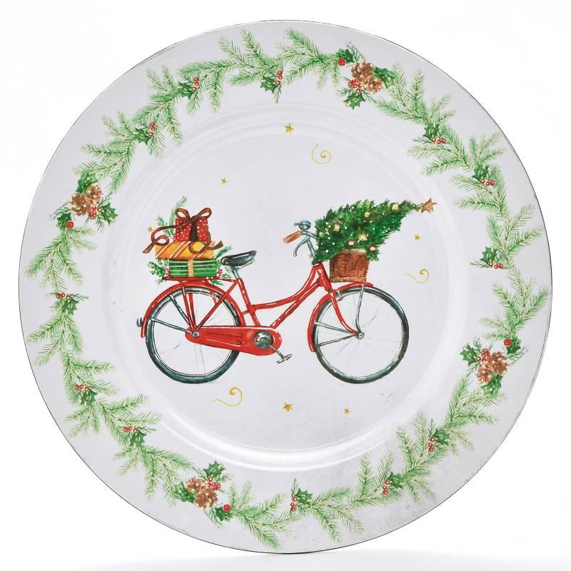 Roberta Allen - Plato Base Bicicleta Navidad