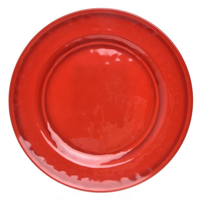 Basement Home - Plato Fondo 28 cm Rojo