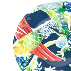 Plato de Ensalada 22 cm Colibrí Azul