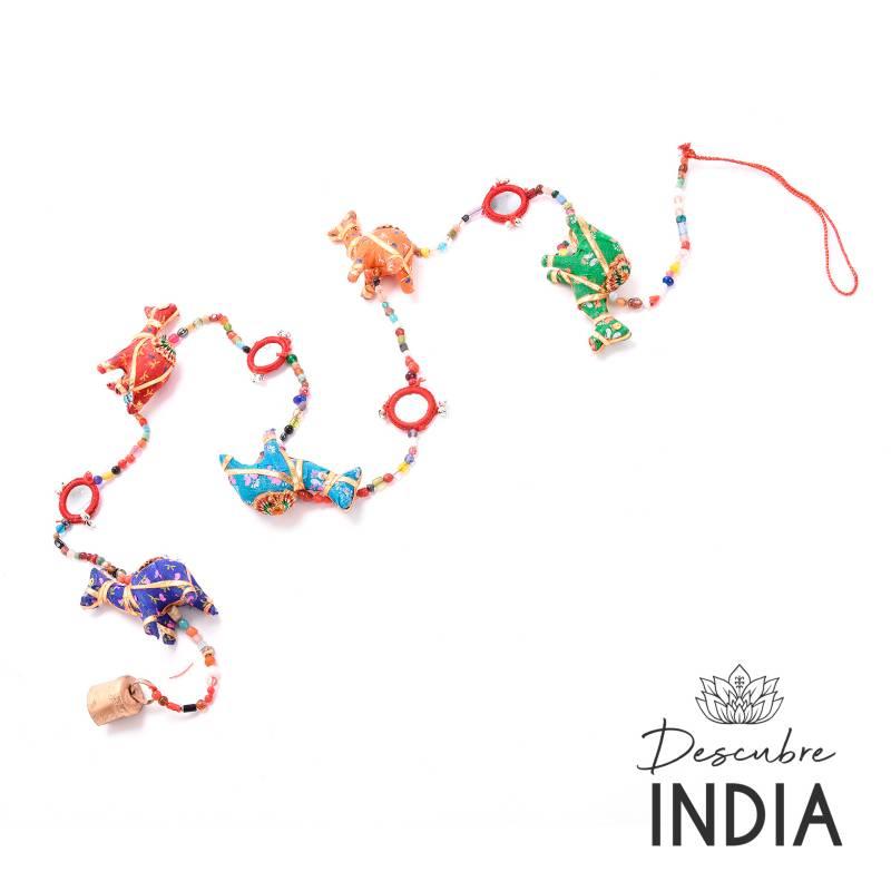 Mica - Colgador Campanas India 120 cm