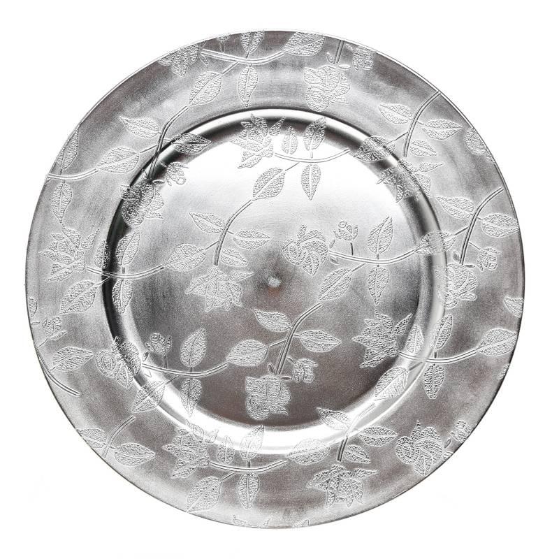 Mica - Base Plato Silver 33 cm