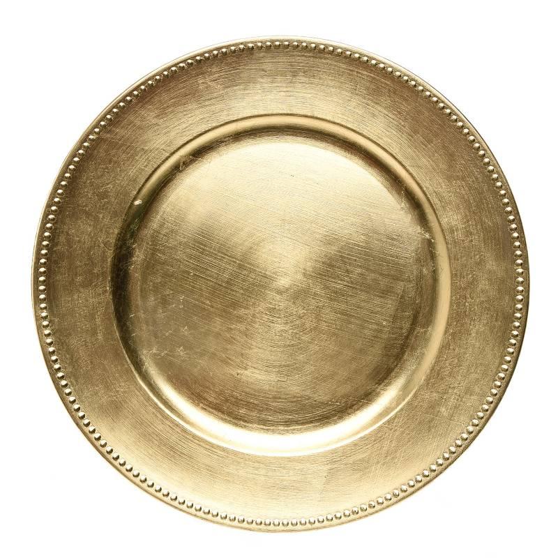 Mica - Base Plato Gold 33 cm
