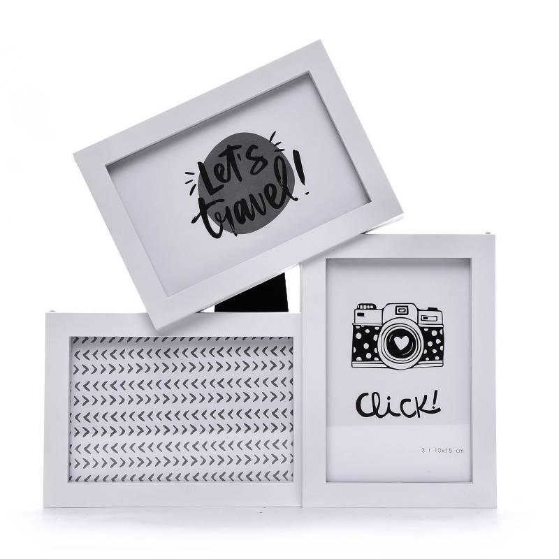 Mica - Multimarco de Foto 10 x 15 cm Vidrio