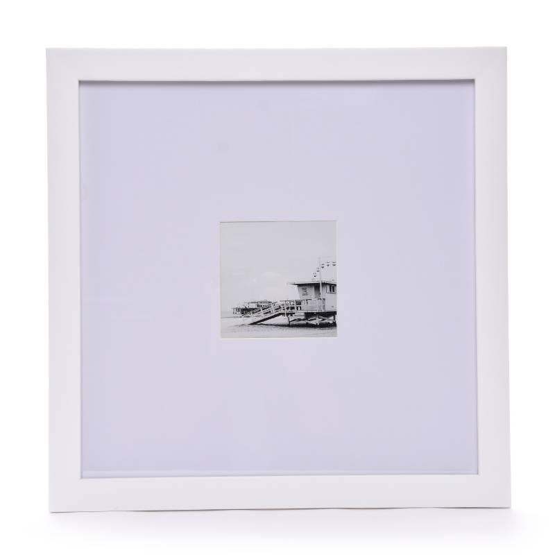 Mica - Marco De Foto Laqueado Blanco 45 x 45 cm