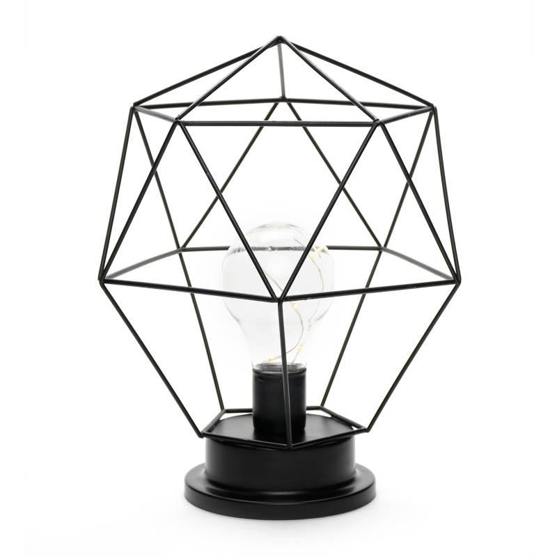 Mica - Lámpara Exagonal 19 cm