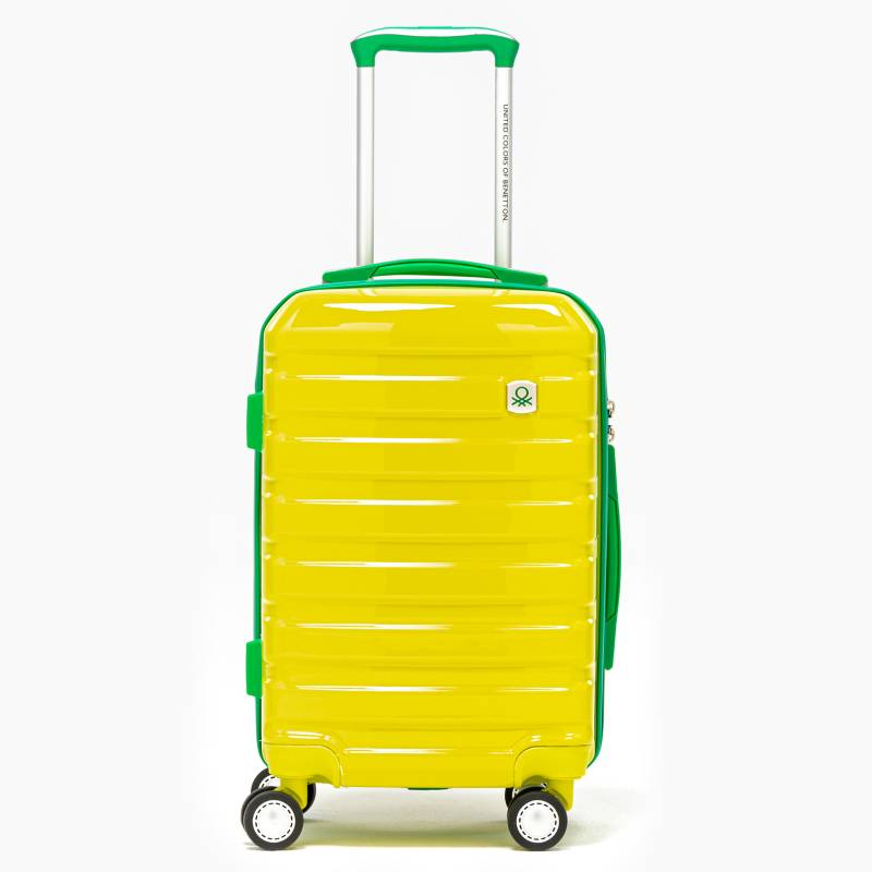Benetton - Maleta de viaje Mediana rígida Benetton Shell