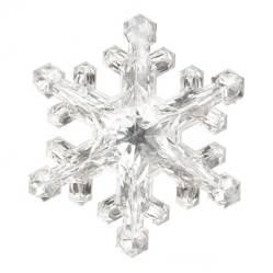 Adorno Snowf Silver 15cm