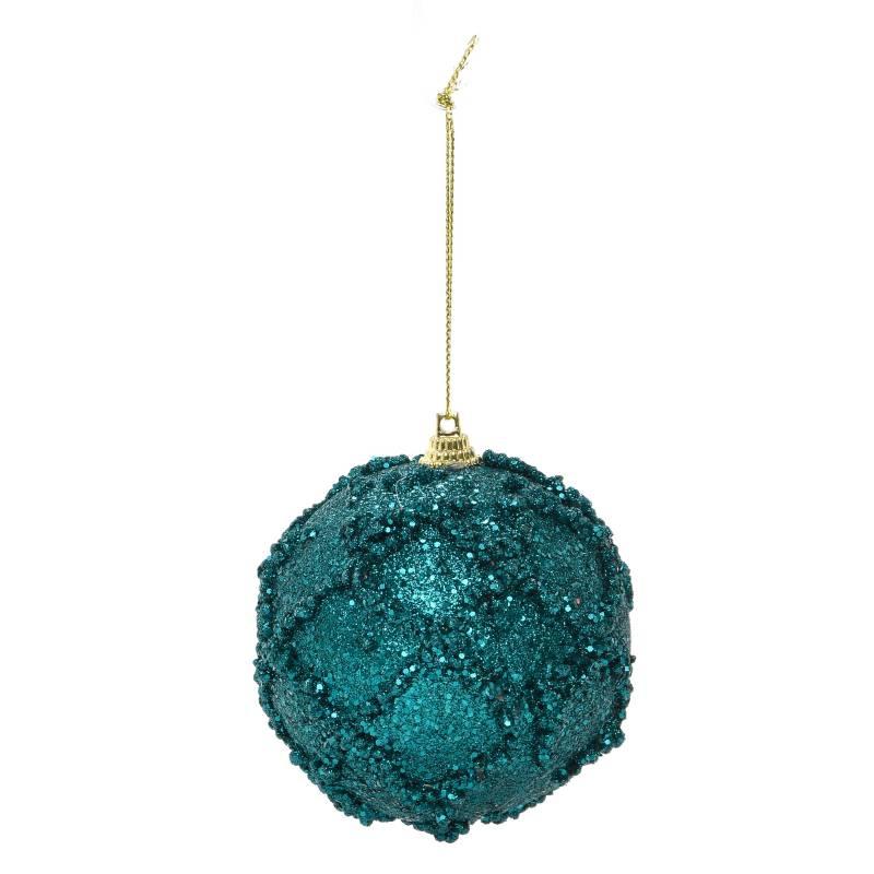 Mica - Bola Azul Brillo 8 cm