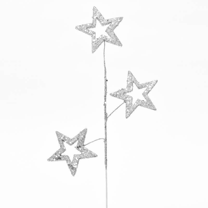Mica - Rama/Flor Estrella Pl 40 cm
