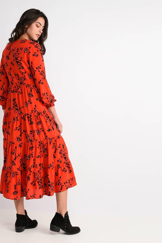 Basement - Vestido Largo Estampado Floral