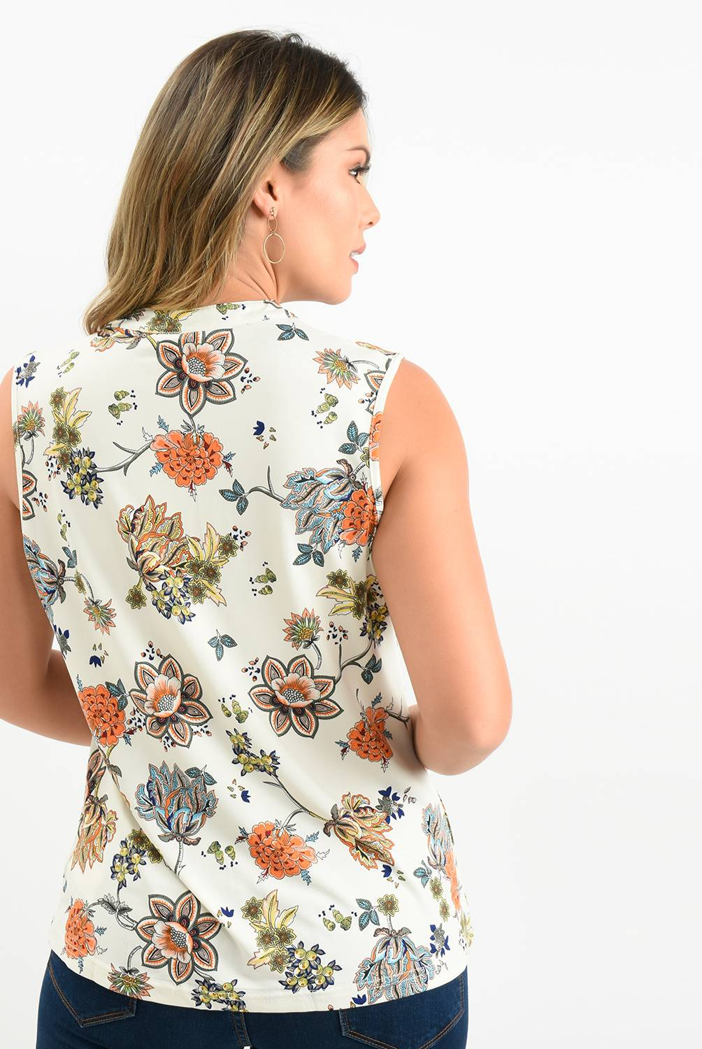 Southland - Blusa Mujer Sin Mangas Southland