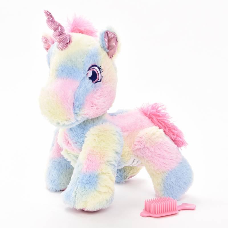 Funtastic Pets - Mascota Camina Unicornio Arcoíris