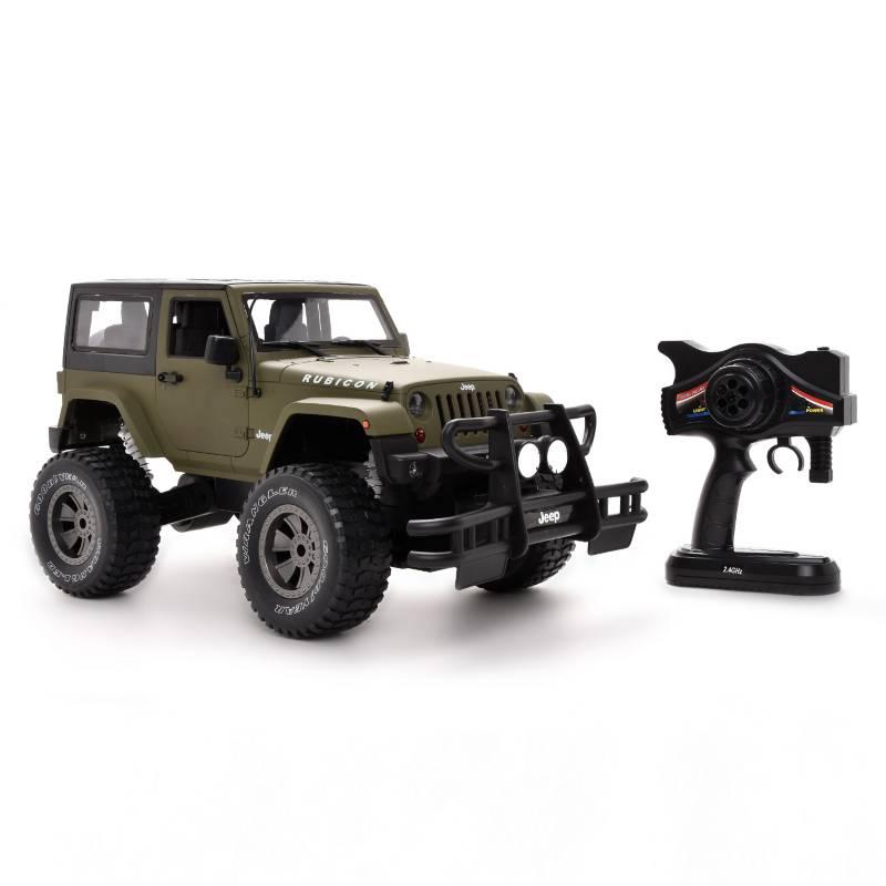 Double E - Radio controlado Jeep Rubicon Verde Mate 1:8