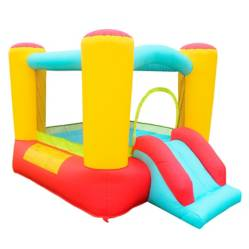 Castillo Inflable Con Rodadero Mini