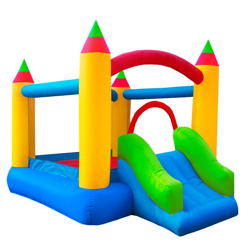 Scoop - Castillo Inflable Con Rodadero Medio
