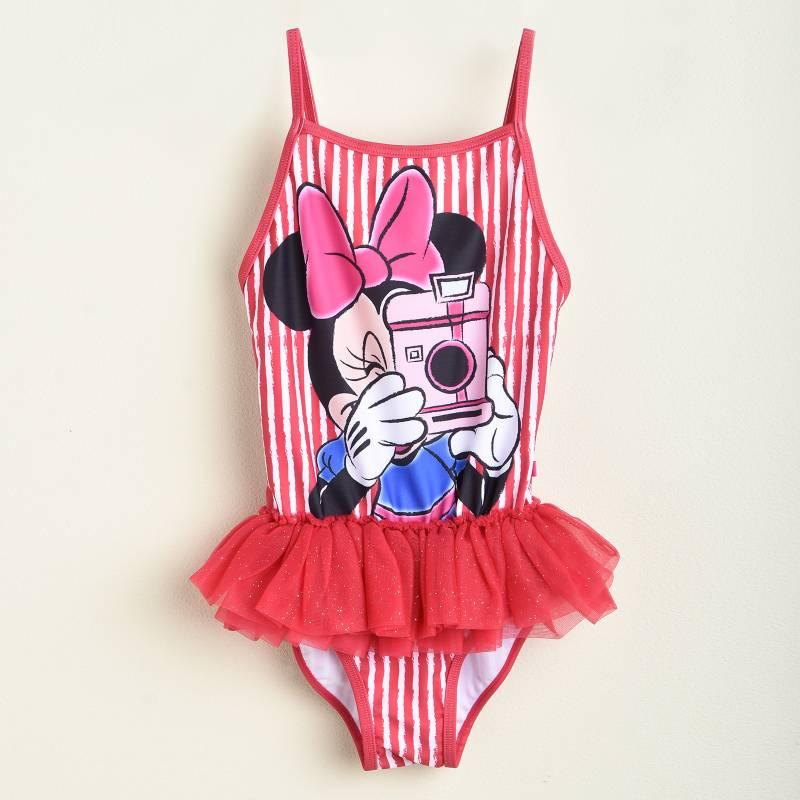 Minnie - Traje de Baño Niña Minnie