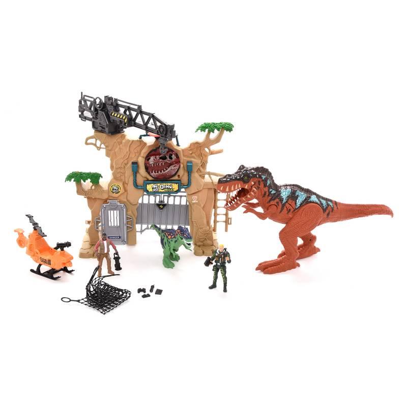 Dino Valley - Set Deluxe Dos Diniosaurios