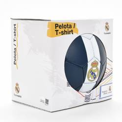 Real Madrid - Balón N°5 Real Madrid Real Madrid + Camiseta Niño