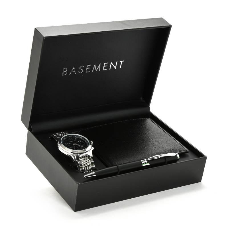 Basement - Set reloj + Billetera