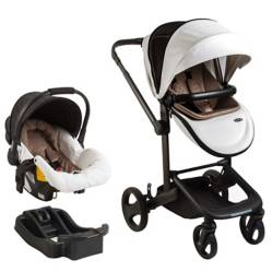 Bebesit - Coche Travel Quad Blanco