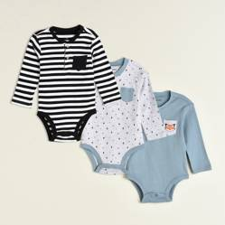 Bodys Bebé Pack x 3