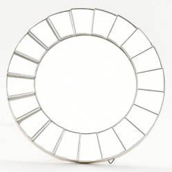 Mica - Espejo Plata 25 cm