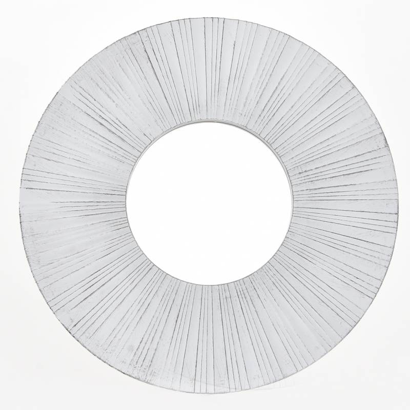Mica - Espejo Blanco Sol 39 cm