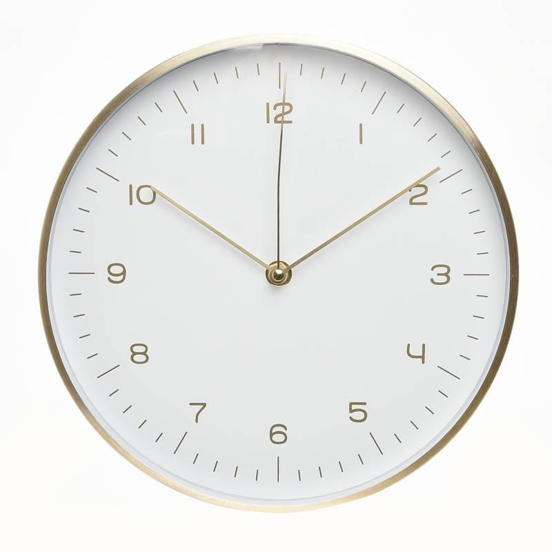 Mica - Reloj Dorado Negro 31 cm