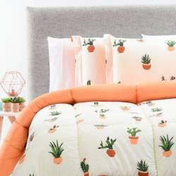 Edredón Cactus