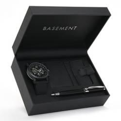 Basement - Set Reloj + Tarjetero + Lapicero Basement