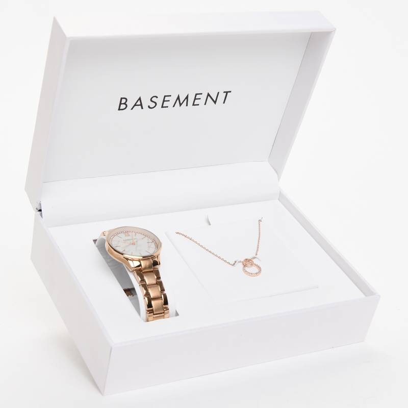 Basement - Set Reloj + Collar Basement