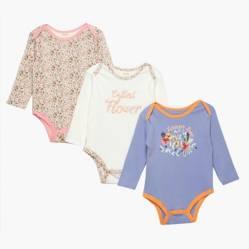 Yamp - Bodies Bebé Niña Pack x 3