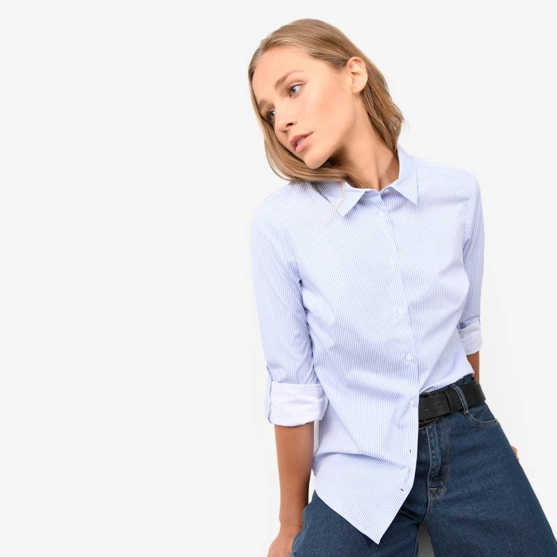 Basement - Camisa Manga Larga Mujer Basement