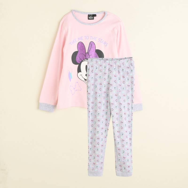 Minnie - Pijama Niña Algodón Minnie