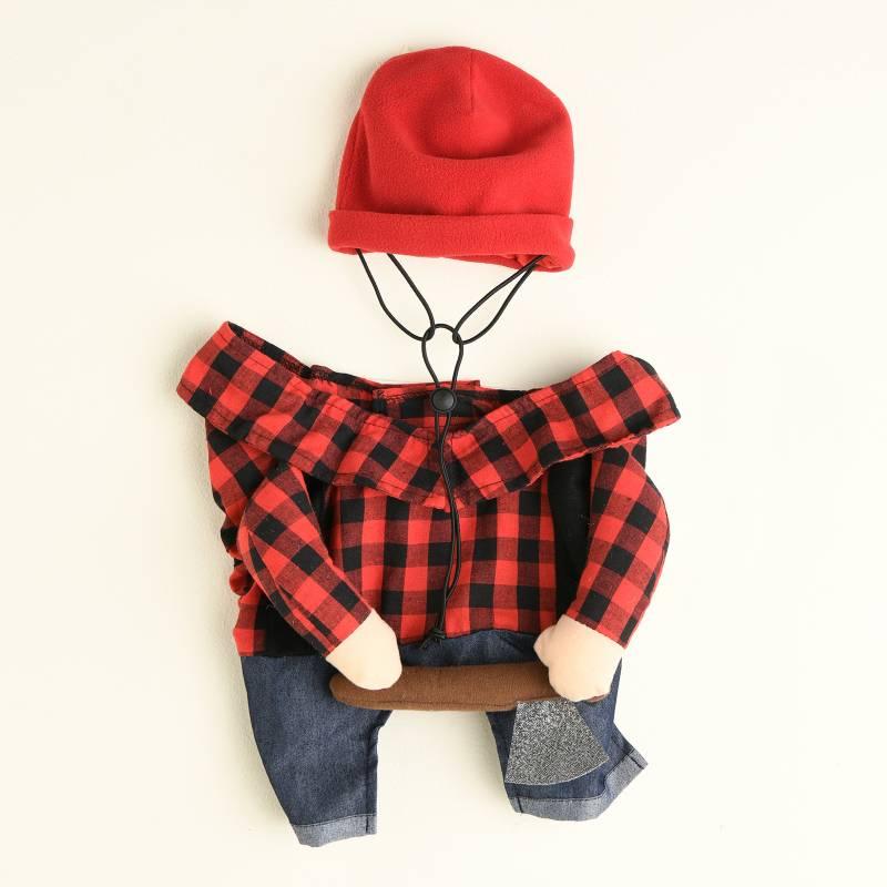Yamp - Disfraz de Nkdaxe Rojo