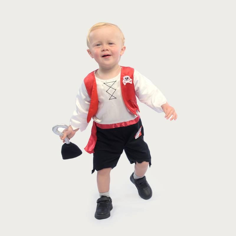 Yamp - Disfraz Mini Pirata