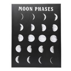 Mica - Cuadro Mdf Luna Negro