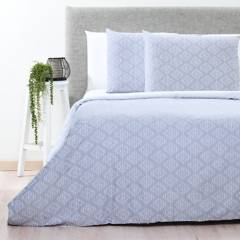 Basement Home - Funda de Duvet Algodón Diamante