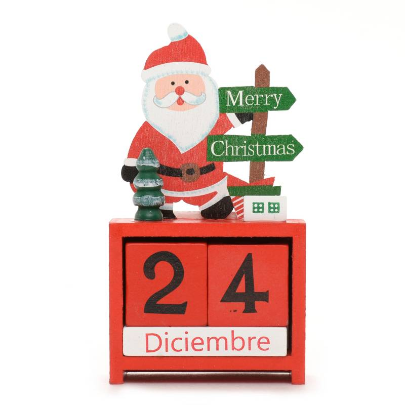 Mica - Decoración Santa 7x13,5 cm