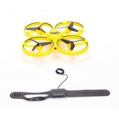 Helic Max - Drone Luz Control De Mano Amarillo