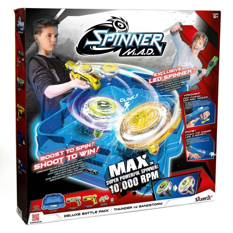 Spinner Mad - Deluxe Battle Pack Estadio y Dos Lanzadores