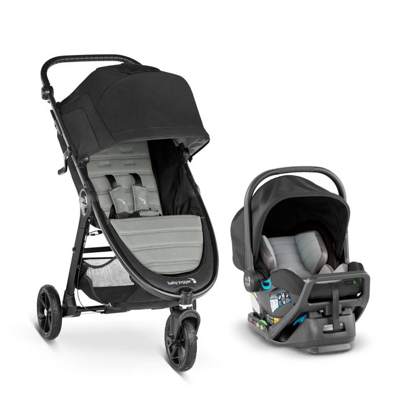 Baby Jogger - Coche Travel System City Mini Gris