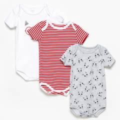 Yamp - Bodies Bebé Unisex Pack x3 Algodón Yamp