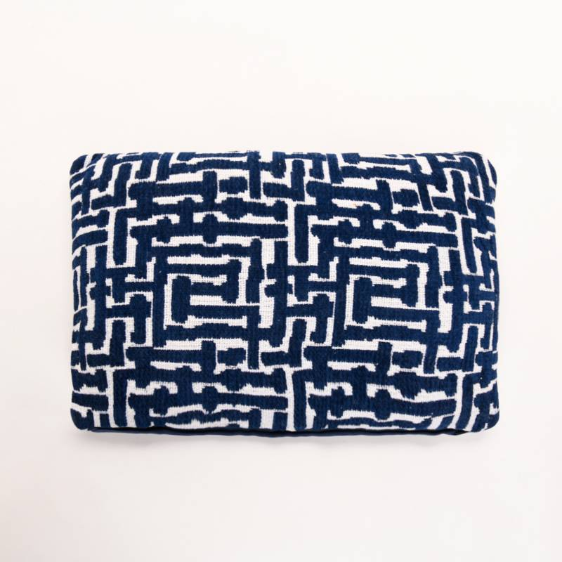 Basement Home - Cojín Maya Rectangular Azul 30 x 50 cm