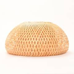 Basement Home - Caperuza Lámpara de Techo Bambú