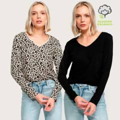 University Club - Pack x2 Camisetas Mujer University Club