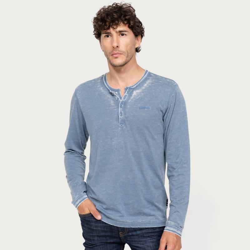 Mossimo - Camiseta Hombre Manga larga Mossimo