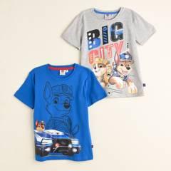 Paw Patrol - Camiseta Niño Pack x2 Paw Patrol
